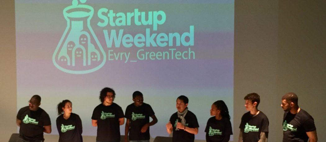Start-Up week end organisé par l'incubateur