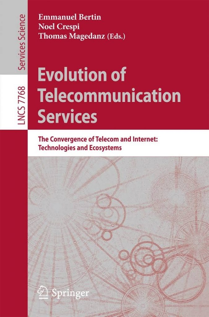 Couverture du livre Evolution of Telecommunication
