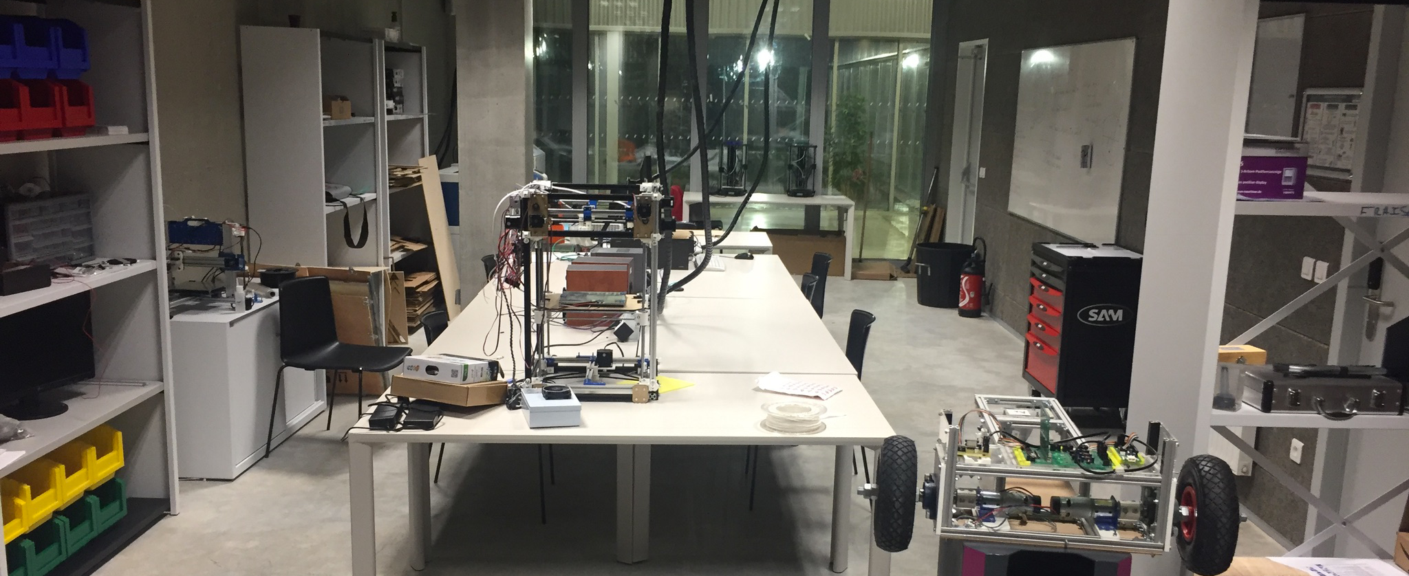 ETOILE FabLab, a prototyping space