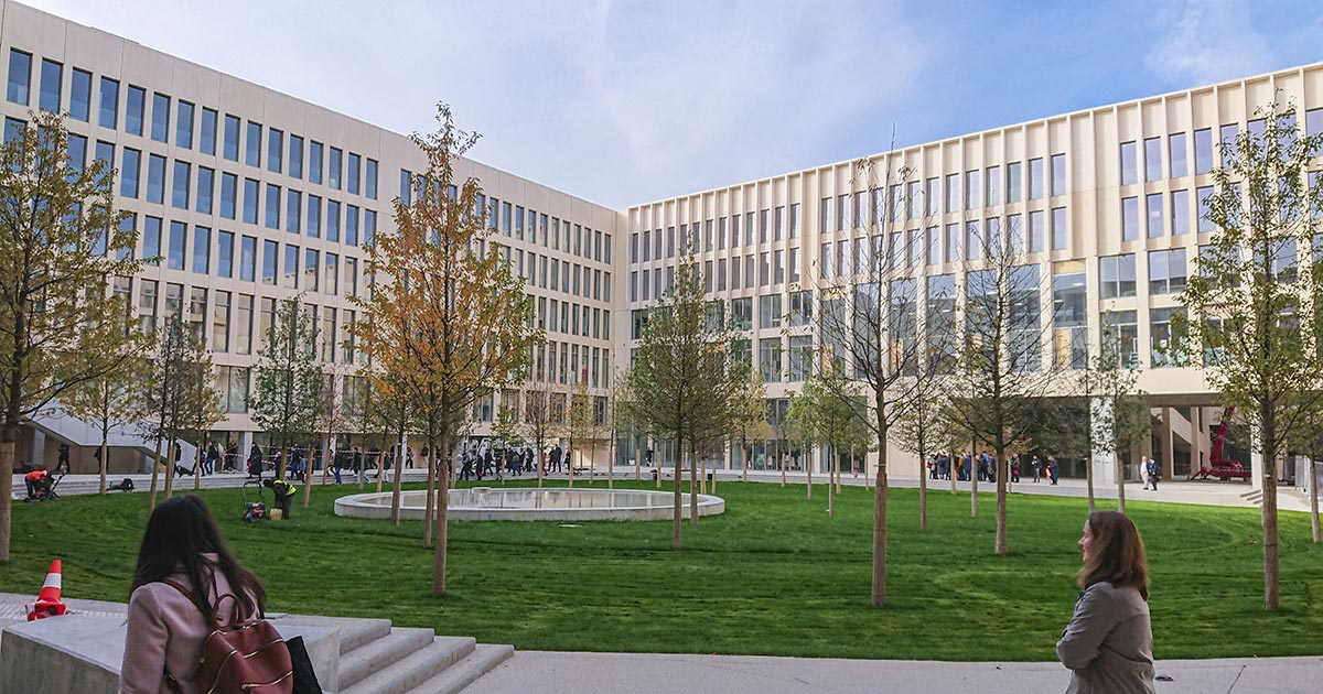The Palaiseau campus in figures