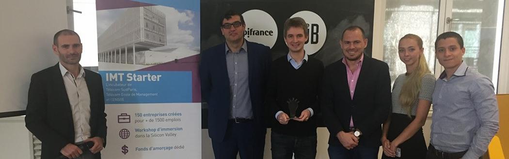 Digital Startup Trophy: Bruce's Startup 2016 winner