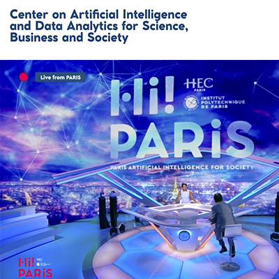 Institut Polytechnique de Paris and HEC Paris launch a new Center with global ambitions in the fields of AI and Data Science