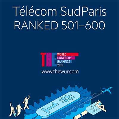 Télécom SudParis ranked 18th in the Times Higher Education's World University Ranking of French institutions
