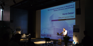 Conférence RAID 2016