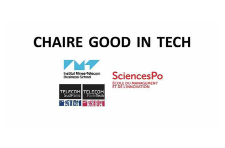Visuel de la chaire Good in tech