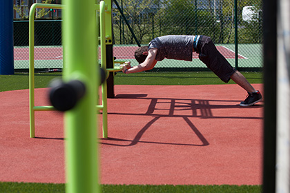 terrain de street-workout