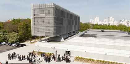 bâtiment ETOILE - Le campus d'Evry