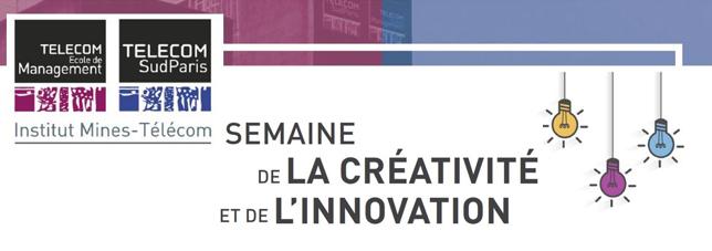 Image de la semaine de la créativité et de l'innovation Télécom SudParis