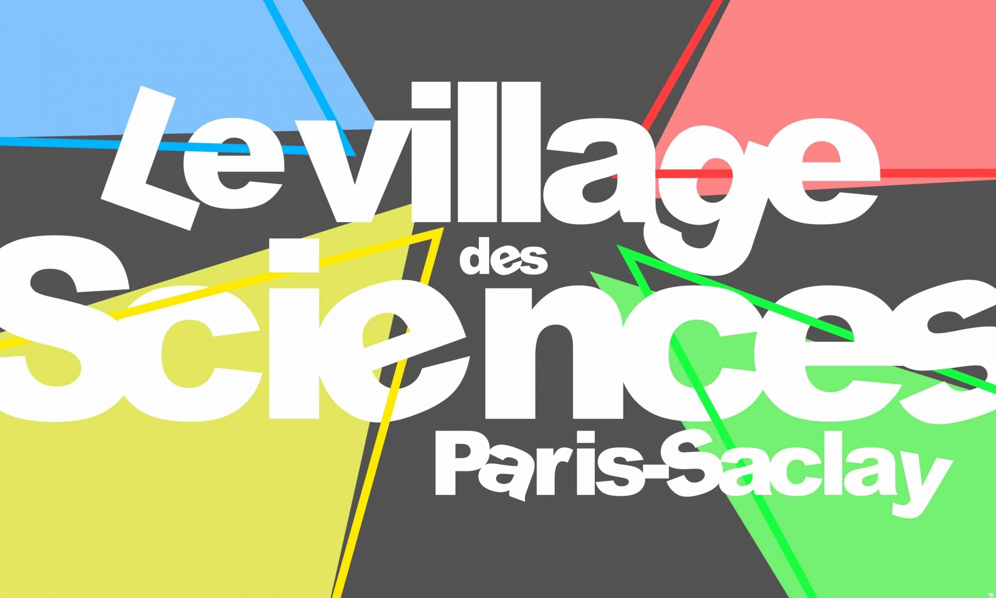 Une affiche du village des sciences