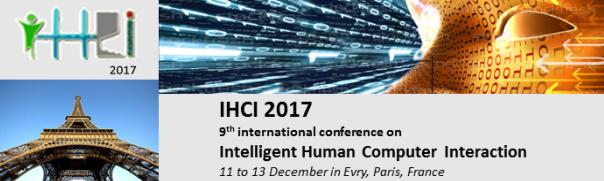 Bannière de la conférence IHCI 2017