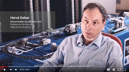 Extrait de la vidéo sur la plateforme cyber-sécurité