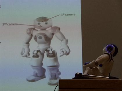 Photo du robot Nao