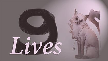 Illustration d'un projet UniJam 2016 représentant un chat