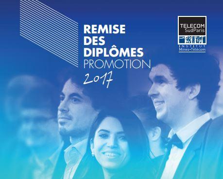 Remise des diplômes de la promotion 2017 – 9 février 2018