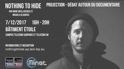 Projection du documentaire Nothing To Hide