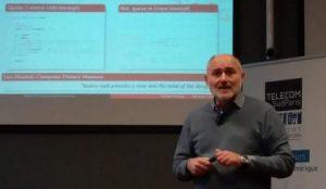 Présentation du projet Software Heritage par Roberto Di Cosmo.