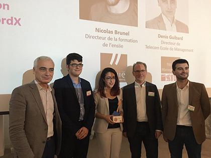 Neosper remporte le Trophée Start-Up Numérique 2017
