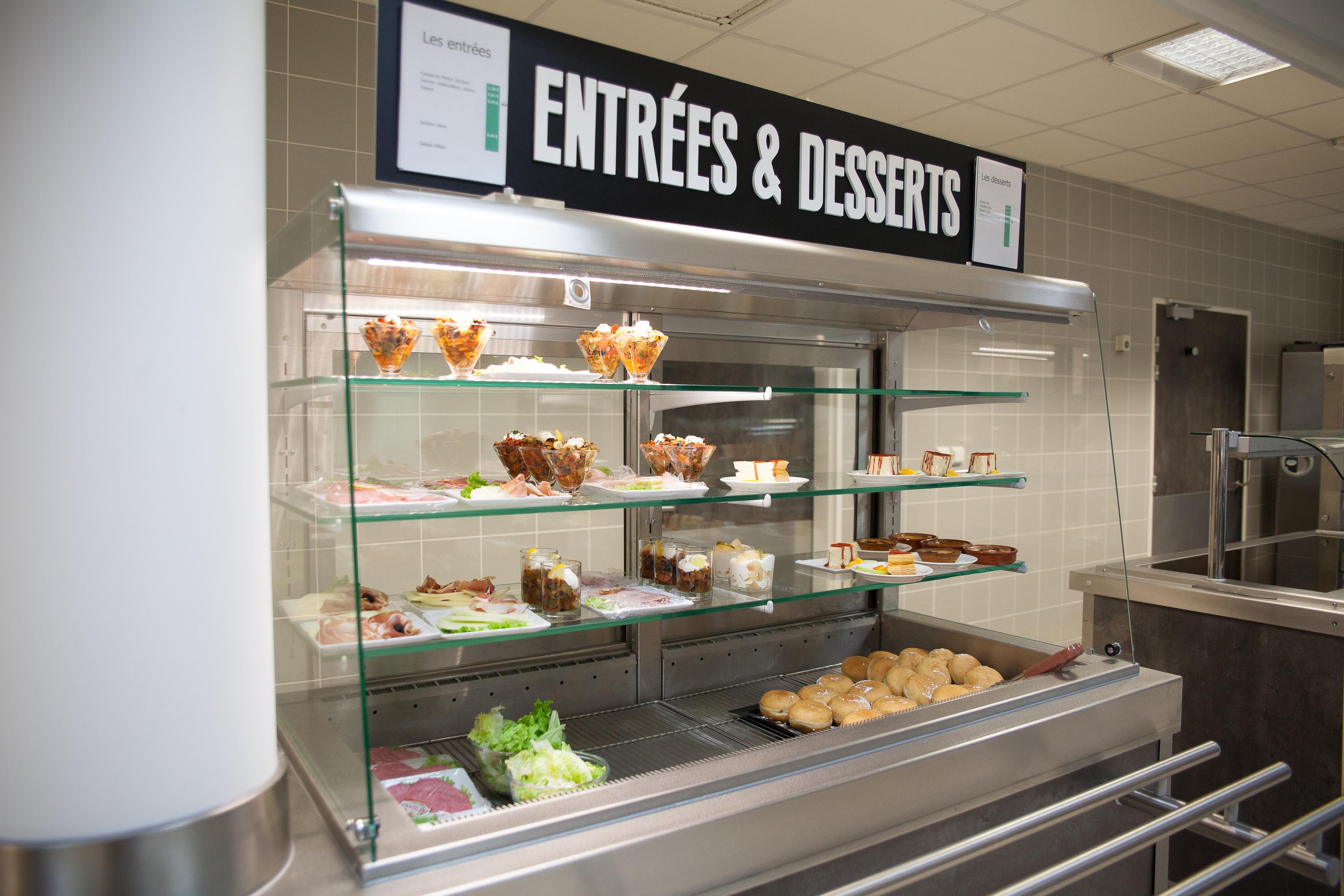 Desserts restaurant Télécom SudParis