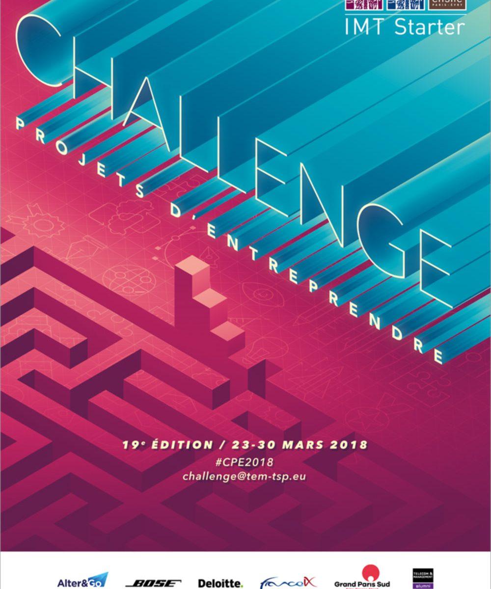 Affiche Challenge Projets d'Entreprendre