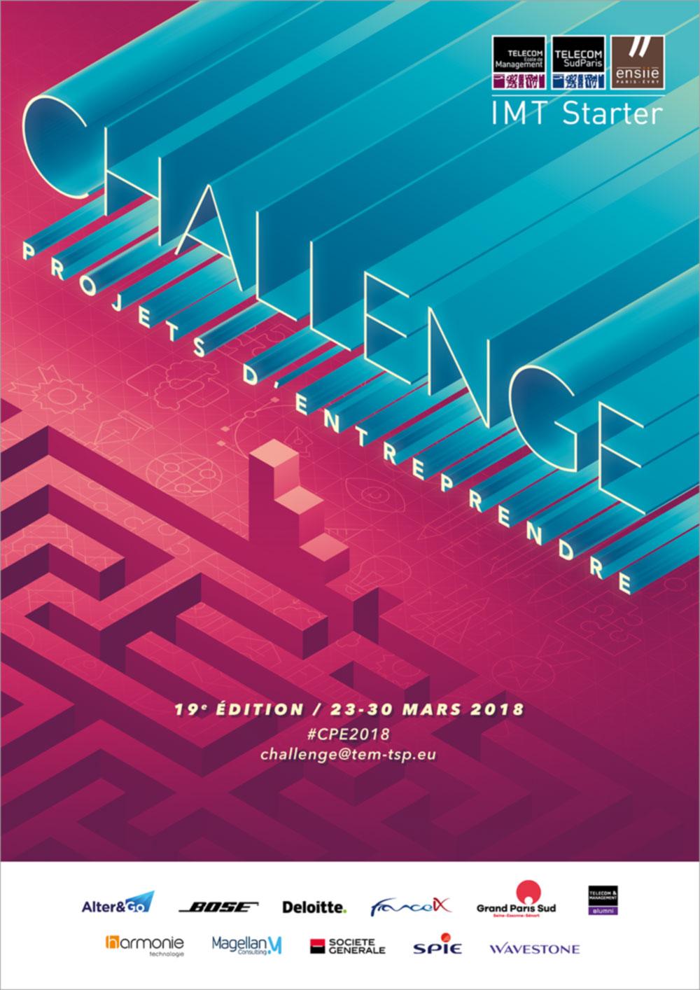 Challenge Projets d'Entreprendre 2018