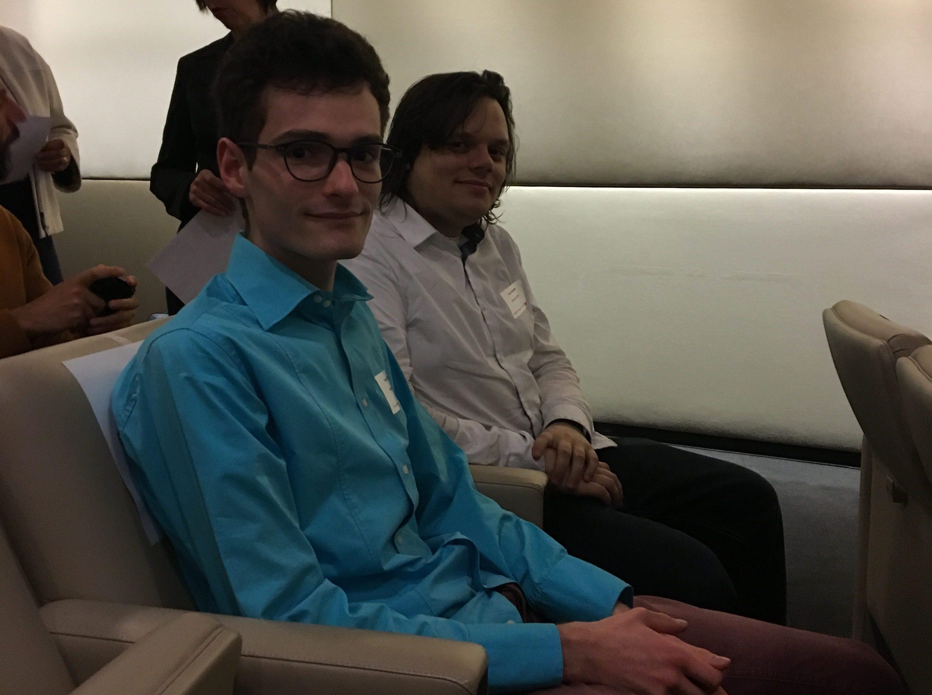 Hugo Gangloff et Ivan Gorynin, lauréats des prix de la Fondation Mines-Télécom