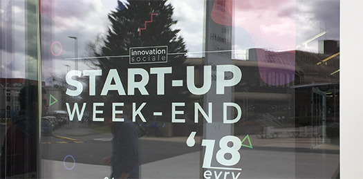 Affiche Start-Up Weekend 2018