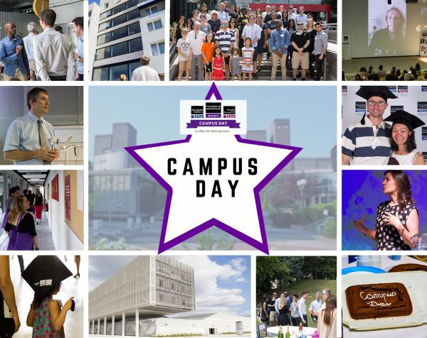 Affiche du Campus Day 2018 de Télécom SudParis