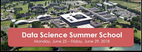Bannière présentant le Data Science Summer School