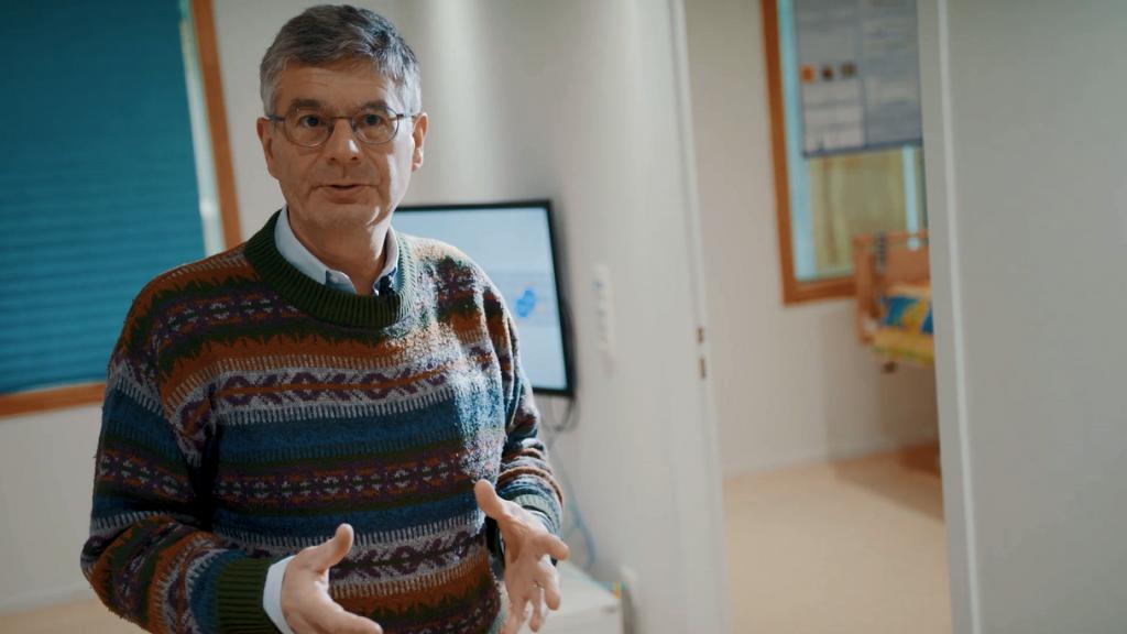 Jérôme Boudy dans le living lab EVIDENT