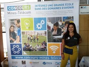 Le concours mines-télécom a lieu en partie à Télécom SudParis.