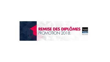 remise diplômes Télécom SudParis promotion 2018