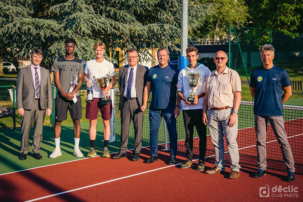 remise des prix de l'Open IMT tournoi de Tennis de Telecom SudParis