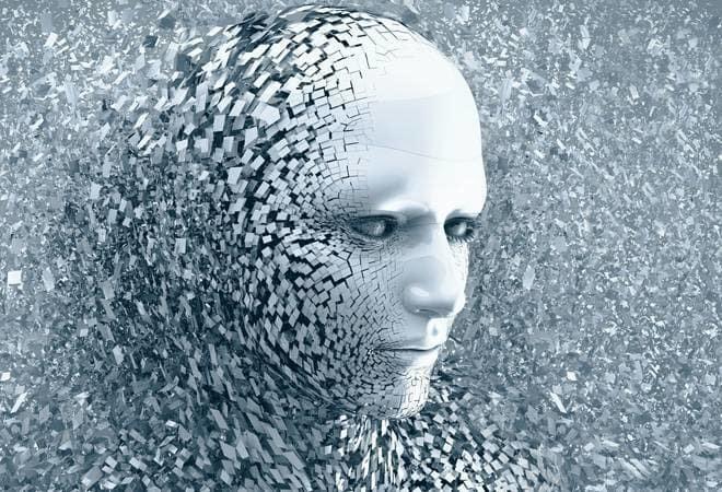 tête d'homme numérique