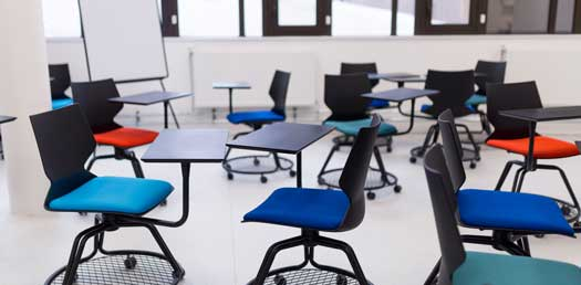 chaise de la salle pédagogique Nova