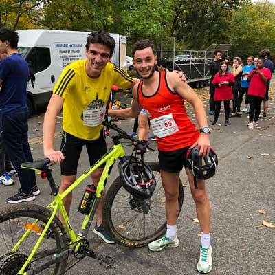 La 1re édition du Bike & Run Grandes Écoles & Universités