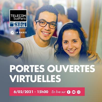 Les portes ouvertes virtuelles de Télécom SudParis