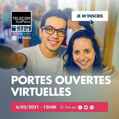 Télécom SudParis vous invite à ses portes ouvertes virtuelles