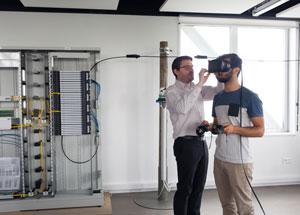 étudiant réseaux VR