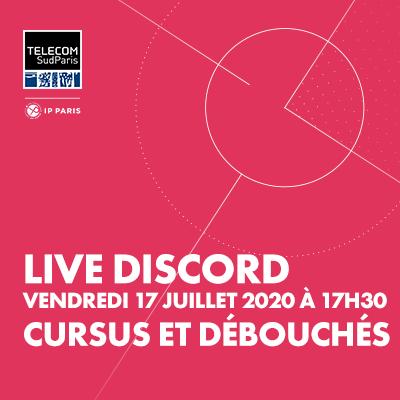 Live Session sur Discord : spécial cursus et débouchés
