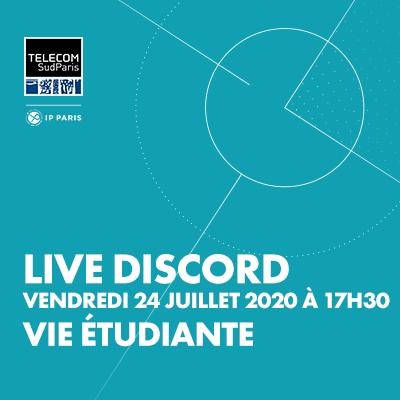 Live Session sur Discord : spécial Vie étudiante