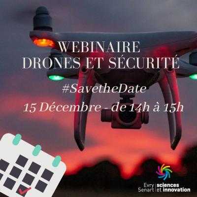 Webinaire Drones et Sécurité