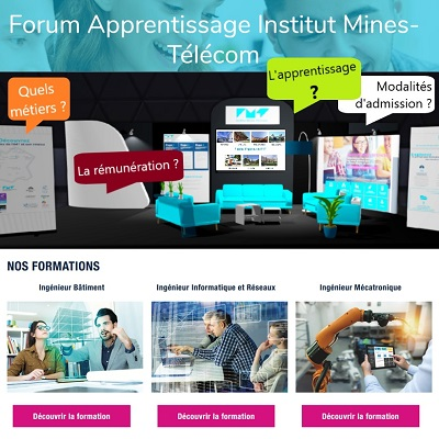 Forum apprentissage Institut Mines-Télécom
